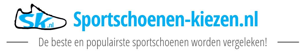 sportschoenen kiezen logo